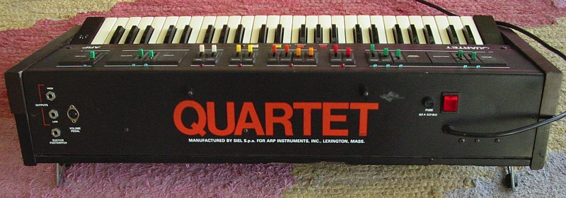 ARP Quartet backside