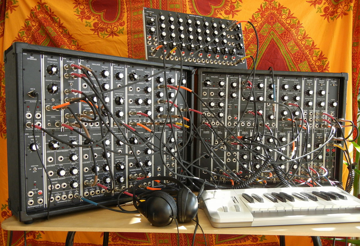 52 units of synthesizers.com