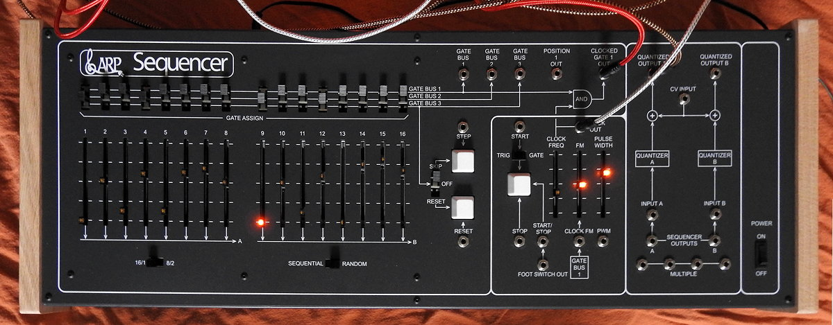 ARP 1601 Sequencer clone