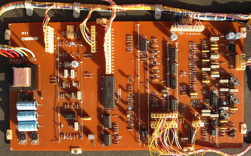 Wersi Bass Synth board